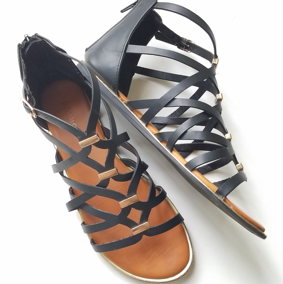 554bc6fe8622 BAMBOO Shoes - Bamboo Sandals Size 8.5